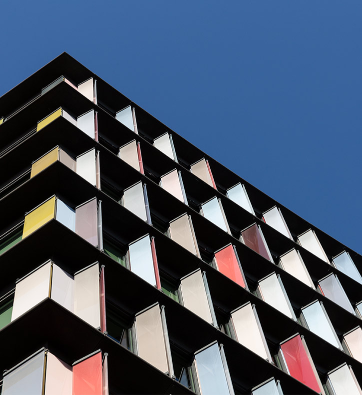 corporate web design image of a building in peterborough
